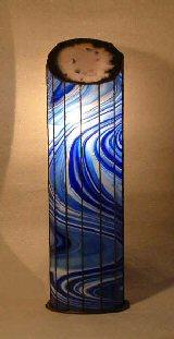 BLAUE GROTTE, lámpara caverna de azul, vidreo abajo